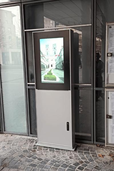 Borne interactive orléans métropole